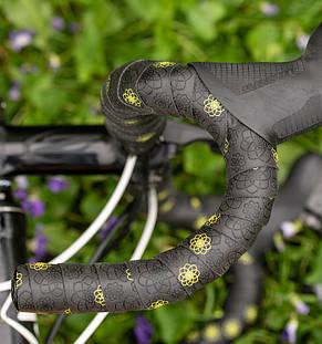 Обмотка SILCA руля Nastro Fiore Bar Tape Black/Yellow, фото 2
