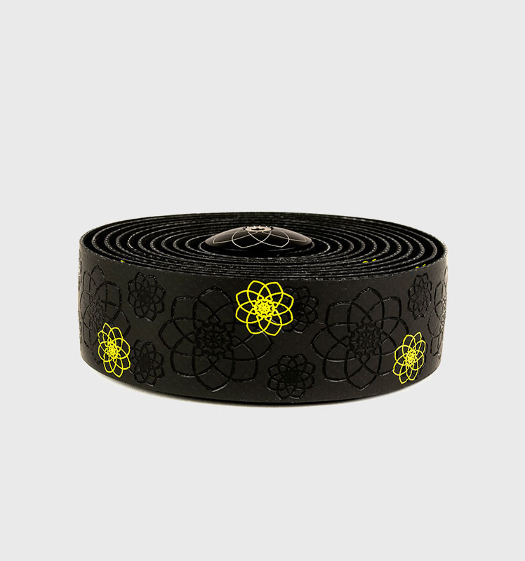Обмотка SILCA руля Nastro Fiore Bar Tape Black/Yellow