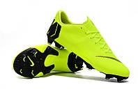 Футбольные бутсы Nike Mercurial Vapor XII Academy FG Volt/Black, фото 1