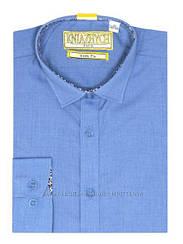Рубашка для мальчика ТМ Княжич, арт. Ocean slim, возраст от 9 до 15 лет