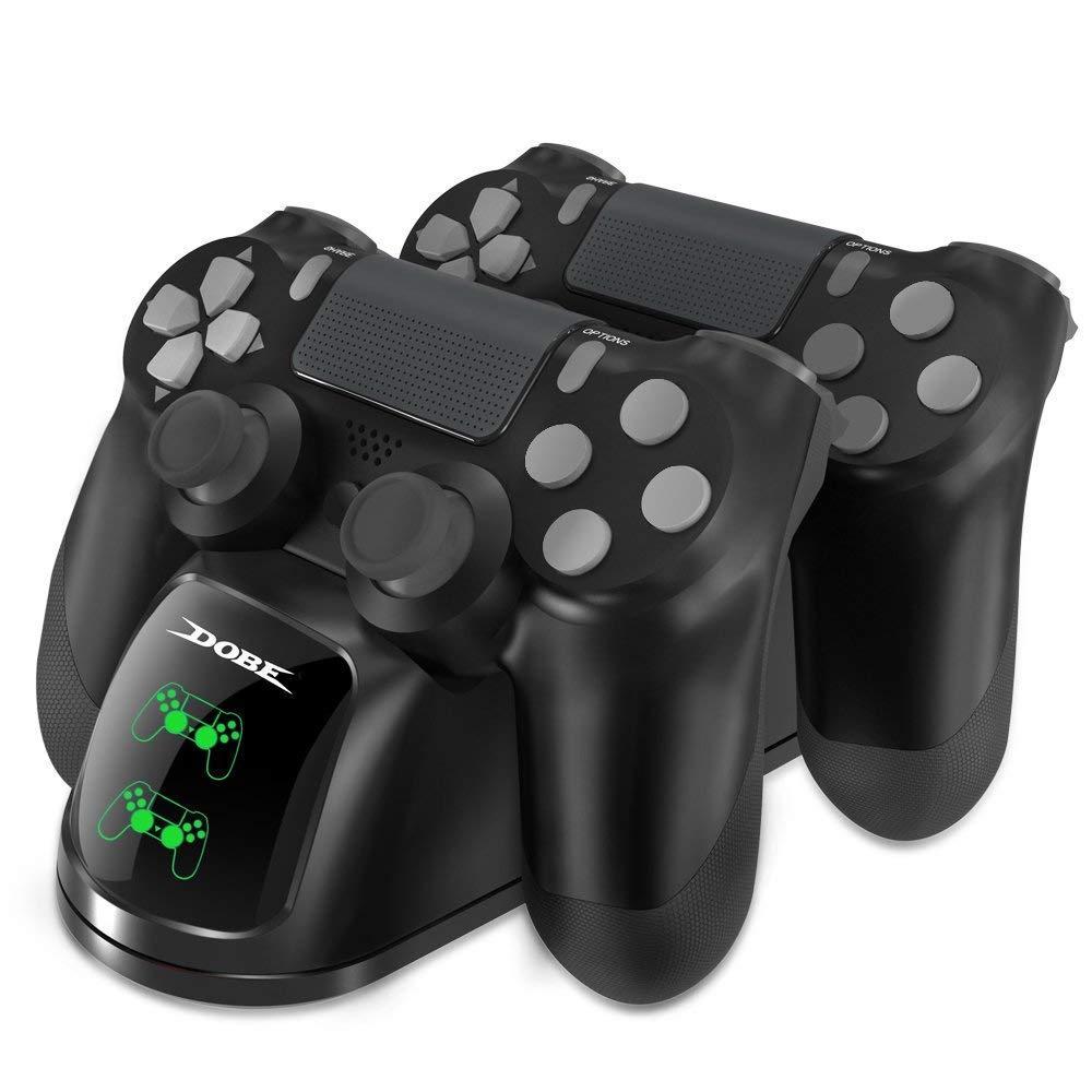 Зарядная станция к геймпад двойная Dobe PS4 / Slim / Pro Черный (TP4-1781)
