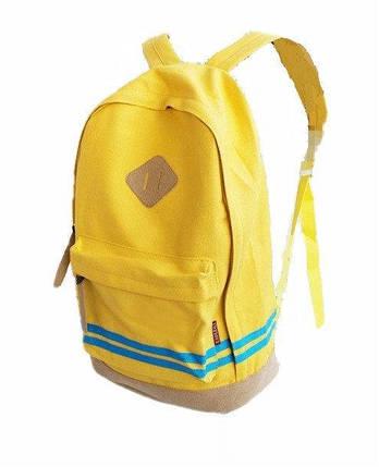 Рюкзак городской BR-S с полосками желтый (996868294), фото 2