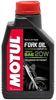 Масло вилочное 20w Technosynthese®. Motul FORK OIL EXPERT HEAVY SAE 20W (1L)
