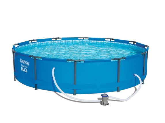 Садовый бассейн с насосом Bestway Steel Pro MAX 305 х 76 см