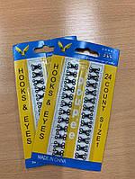 Крючки пришивные железные упаковка (24 шт), размер: 1, фото 1