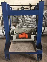 Вибропресс для производства тротуарной плитки