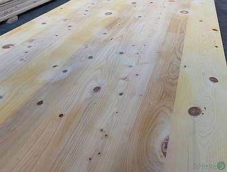 МДФ плита шпонированная Сосной Американской в сучках 19 мм 2,8х1,033 м