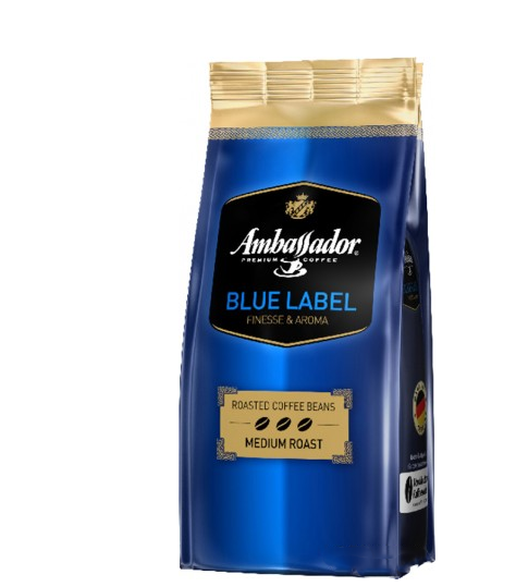 Кава мелена Ambassador Blue Label 250 + 25 г
