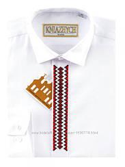 Рубашка для мальчика ТМ Княжич, арт. Вышиванка красная Classic, 158-164