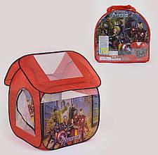 """Детская палатка-домик в сумке """"Мстители"""""""