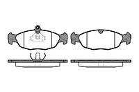 """Колодка тормозная Daewoo Lanos 14"""",Sens, NEXIA передняя (комплект 4шт) (пр-во REMSA, Испания)"""