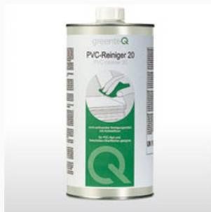 Очиститель профиля металлопластиковых ПВХ окон GreenteQ 20 для легких царапин и потертостей