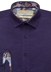 Рубашка для мальчика ТМ Княжич, арт. Ribon A 90, возраст от 7 до 12 лет