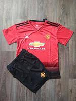Футбольная форма Манчестер Юнайтед сезона 2018/19, домашняя, взрослая, детская