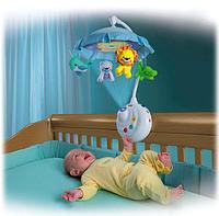 Погремушка на кроватку PLAY SMART 7180 Умный малыш.Музыкальный мобиль с пультом и проектором., фото 1