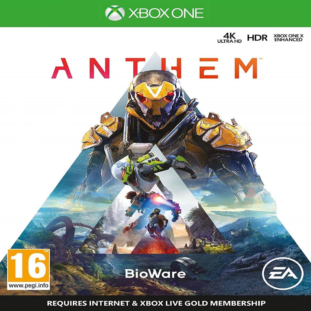 Anthem XBOX ONE (російська версія) (Б/В)