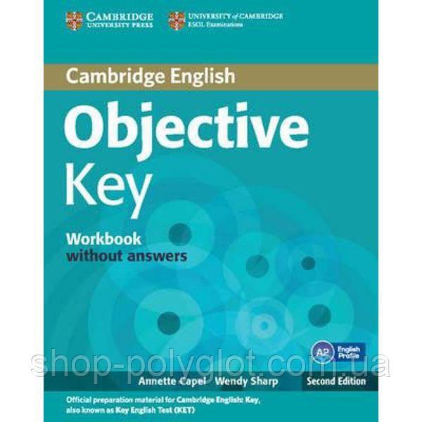 Objective Key 2nd Ed Workbook  without answers