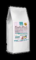 Безглютеновый гипоаллергенный корм Home Food для щенков мелких пород Форель с рисом и овощами  3 кг