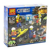 "Конструктор ""Cities: шахтёры"", 107 дет 28015"