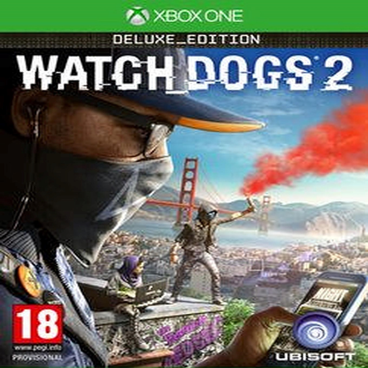 Watch Dogs 2 Deluxe Edition XBOX ONE ENG