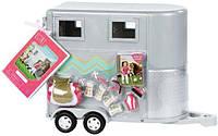 Транспорт для кукол LORI LO37020Z Трейлер для лошади