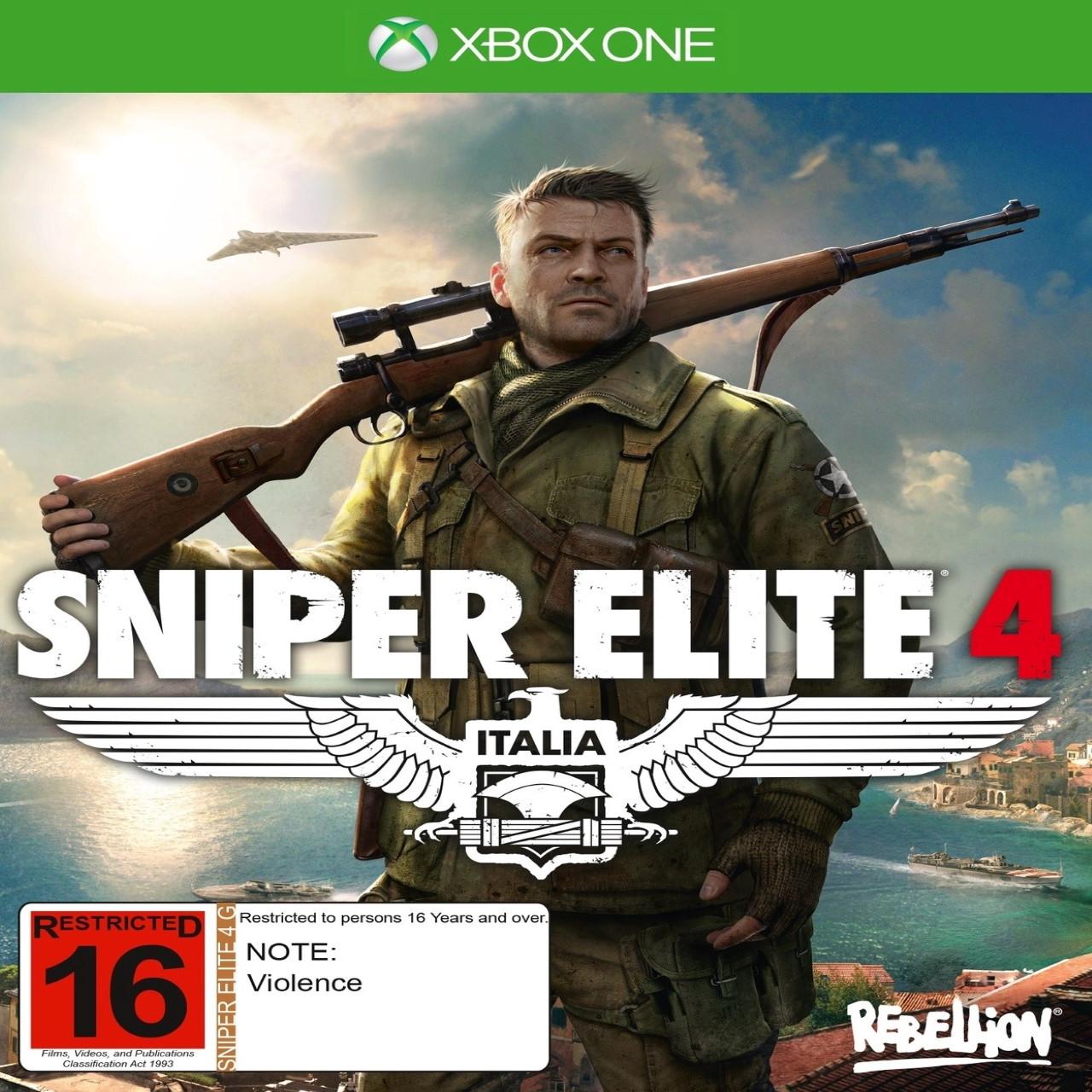 Sniper Elite 4 XBOX ONE (російська версія)