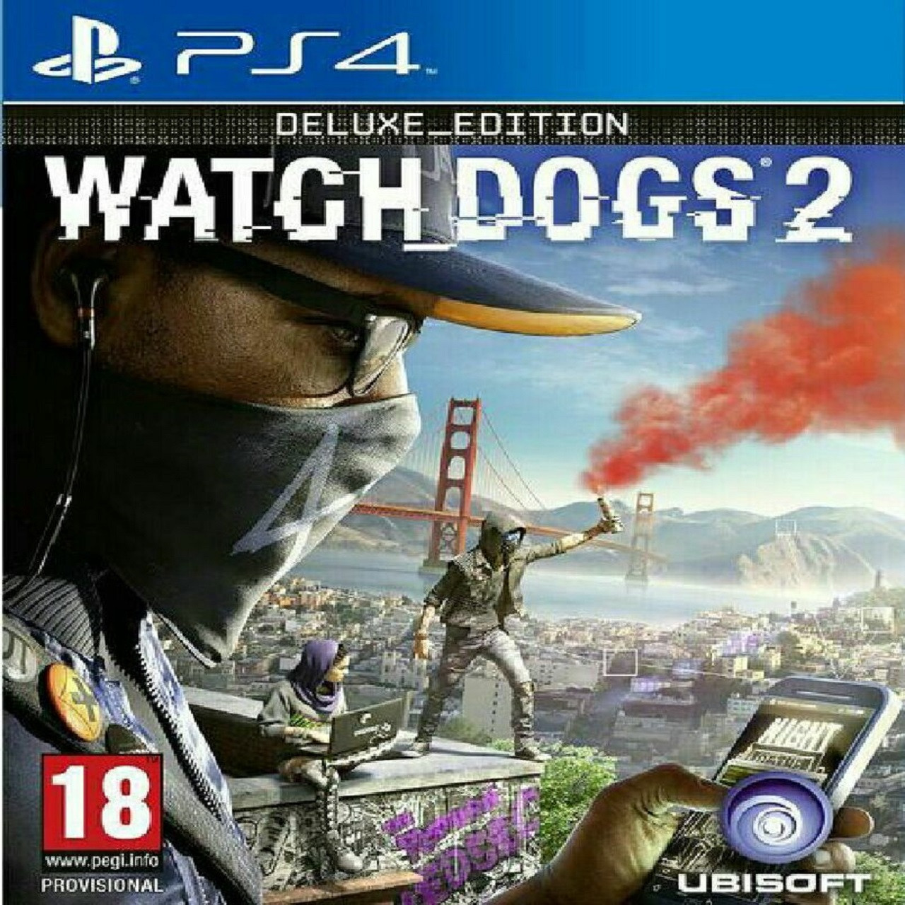 Watch Dogs 2 Deluxe Edition (английская версия) PS4