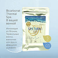 Uni Tabs. Соль бикарбоната термальных ванн. Табл, 5 шт