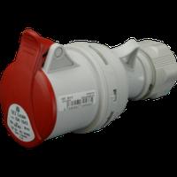 Розетка кабельная ISN 1653 IP44 (16A, 400V, 3P+N+PE) SEZ