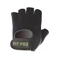 Перчатки для фитнеса и тяжелой атлетики Power System FP-07 B1 Pro L Black, фото 1