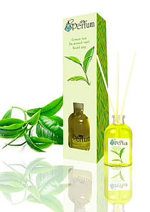 Аромат для дому офісу ресторану зелений чай 50 мл бамбуковий аромадиффузор свіжий аромат