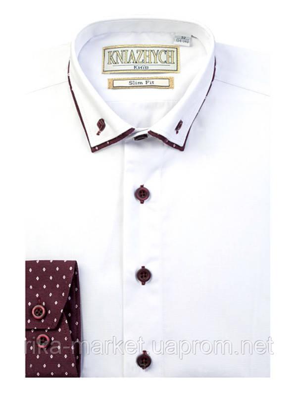 Рубашка для мальчика ТМ Княжич, арт.  Vivat slim, возраст от 11 до 14 лет