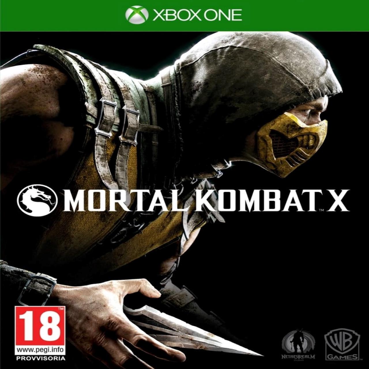 Mortal Kombat X SUB XBOX ONE (Б/В)