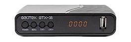 Цифровая приставка GEOTEX GTX-35 DVB-T / T2 / C Черный