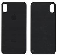 Крышка корпуса для iPhone X Черная полная сборка (стекло) оригинал PRC