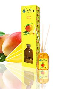 Аромадиффузор для дому офісу ресторану манго 50 мл бамбуковий аромадиффузор