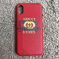 Gucci iPhone X Case Future Red