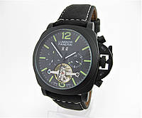 Часы Panerai Luminor Tourbillon Automatic 45mm Black Edition. Реплика, фото 1