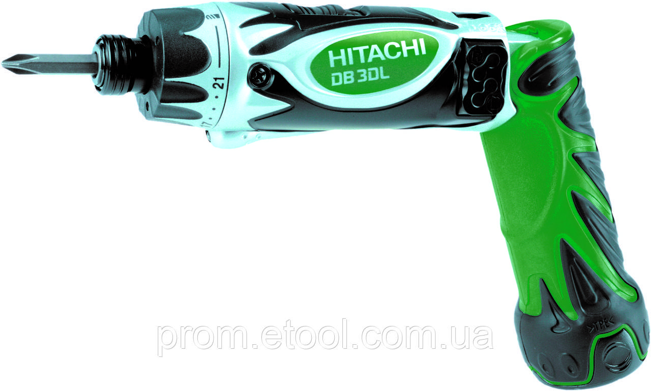 Аккумуляторная отвертка Hitachi/hikoki DB3DL2