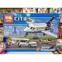 "Конструктор Lepin 02044 Сити (аналог Lego City 60102) ""Служба Аэропорта Для Vip-Клиентов"", 393 дет"
