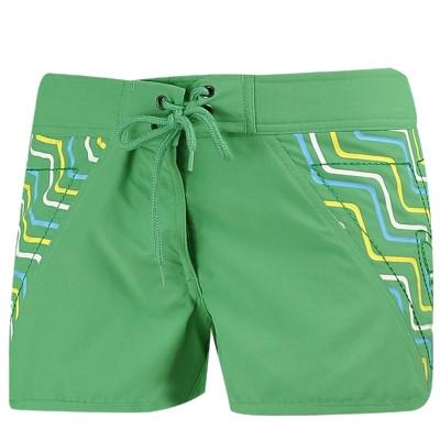 Шорты женские пляжные adidas BOARD SHORT E78324 (зеленые, быстро сохнут, не впитывают влагу, бренд адидас)