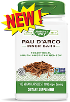 Nature's Way, Внутренний слой коры муравьиного дерева, 545 мг, 180 вегетарианских капсул