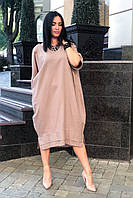 Платье женское чёрный голубой бутылка мокко бирюза 48-50 52-54 56-58 60-62, фото 1