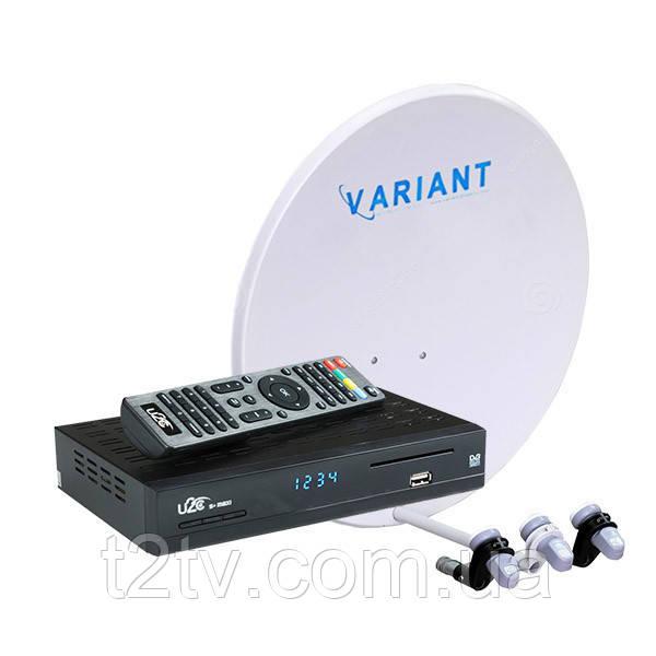 Комплект на 3 спутника Интернет ТВ HD с Вай-Фай в комплекте