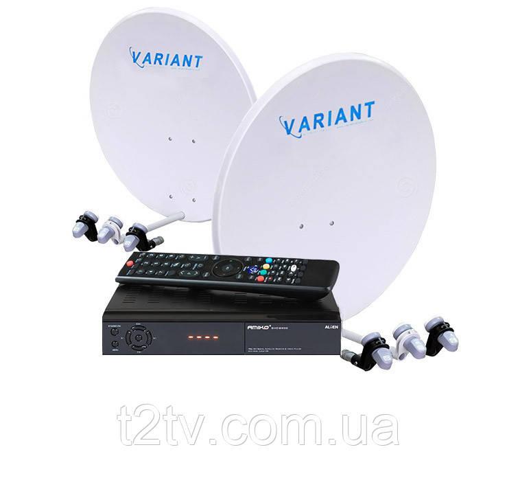 Комплект на 4 спутника Расширенный HD с Вай-Фай в комплекте