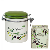"""Ёмкость для сыпучих продуктов """"Оливки""""  500мл (630-8)"""