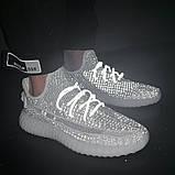 Женские кроссовки Adidas Yeezy Boost (реплика), фото 2