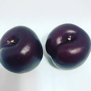 Искусственный фрукт-слива,муляж сливы, фото 2