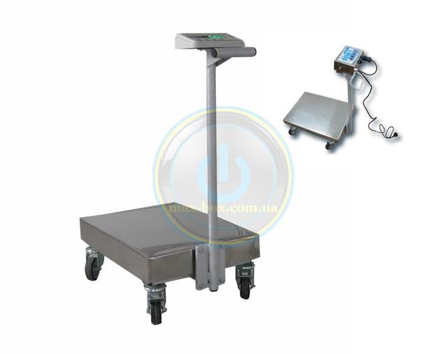 Электронные платформенные весы тележка производство Техноваги.
