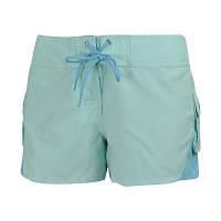 Шорты женские пляжные adidas bl 2 w shorty E13094 (бирюзовые, быстро сохнут, не впитывают влагу, бренд адидас)